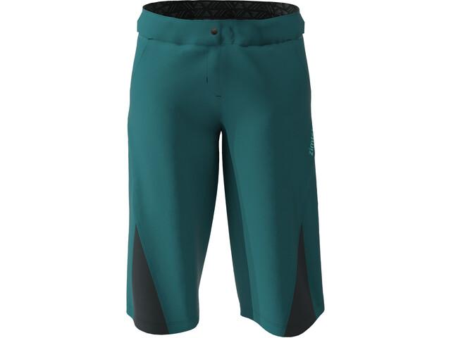 Zimtstern StarFlowz Shorts Mujer, Azul petróleo